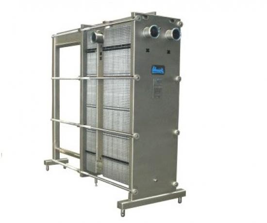 SIGMA F-Series Free Flow Plate Heat Exchanger | Blue Heat